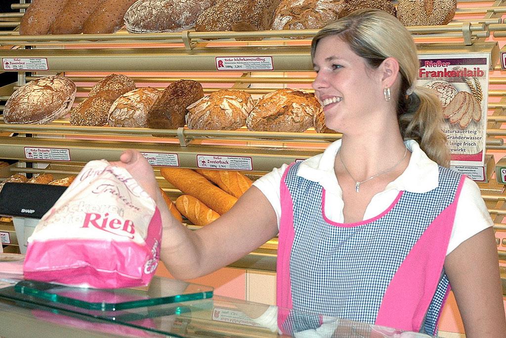 Bäckereifachverkäufer (m/w) Ausbildung |Bäckerei, Café Rieß, Karriere