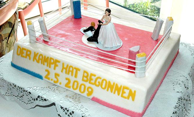 Konditorei Bechhofen | Bäckerei, Café Rieß | Ihre Bäckerei In Bechhofen, Hochzeitstorte Ringkampf