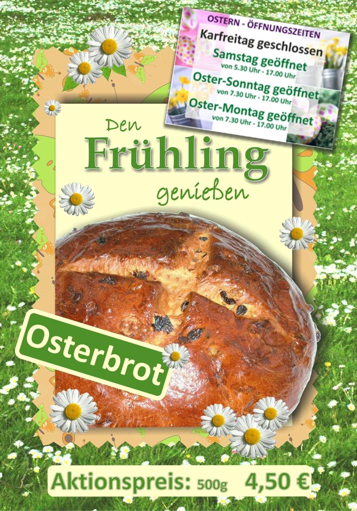 Osterbrot Aus Feinem Butter-Hefeteig