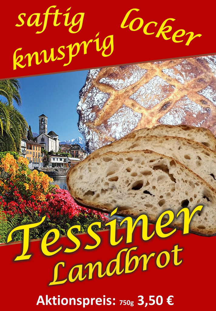 Tessiner Landbrot – Knusprig, Saftig, Locker