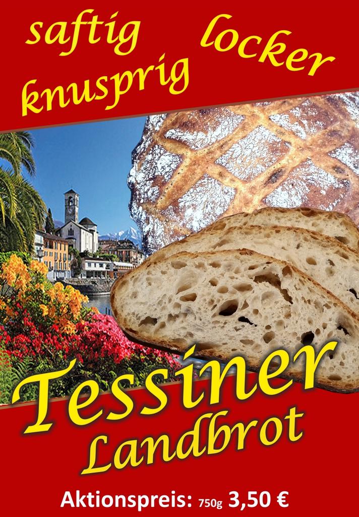 Tessiner Landbrot – Saftig, Locker, Lecker!!