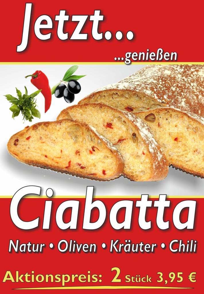 Ciabatta – Jetzt…genießen