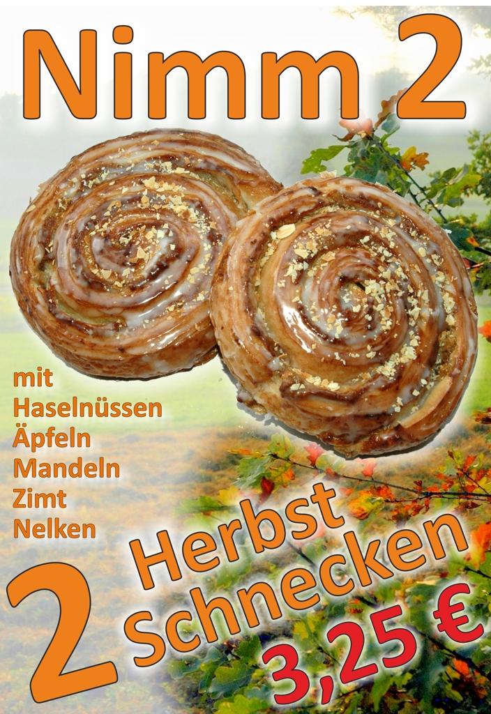 Herbstschnecken – Nimm 2