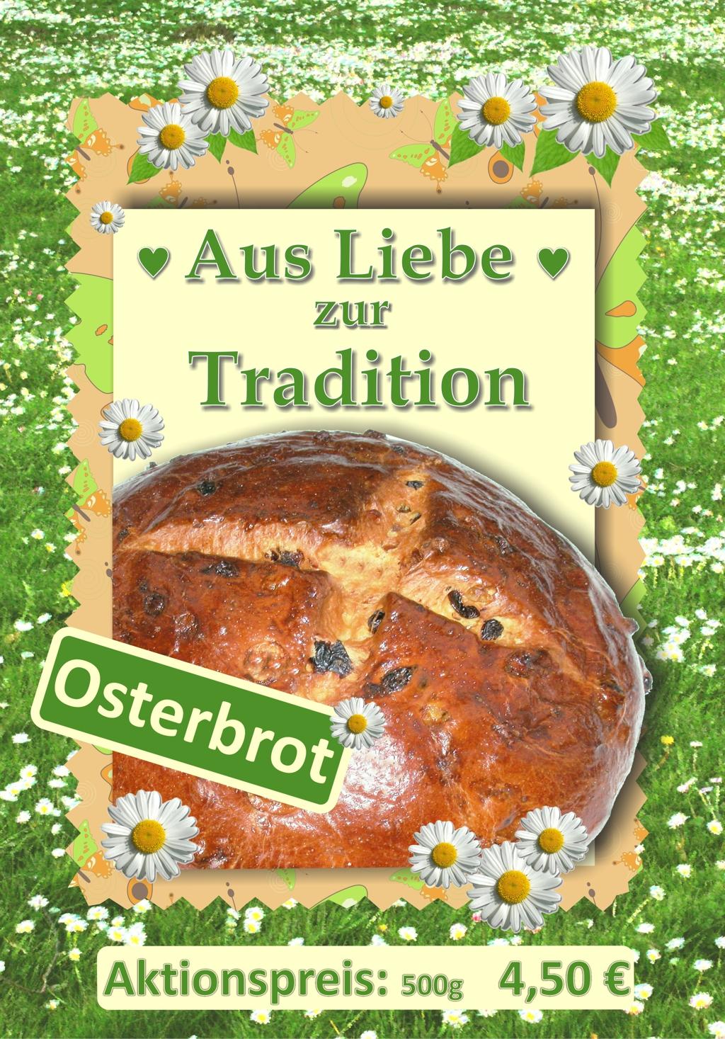Leckeres Osterbrot Aus Feinem Butter-Hefeteig