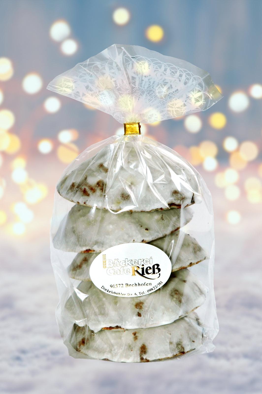 Elisenlebkuchen Packung Mit 5 Stück Zuckerglasur